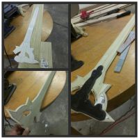 Kirito's Elucidator from Sword Art Online WIp by GS-PROPS