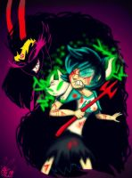 The Final Showdown by BunnyGirl-666