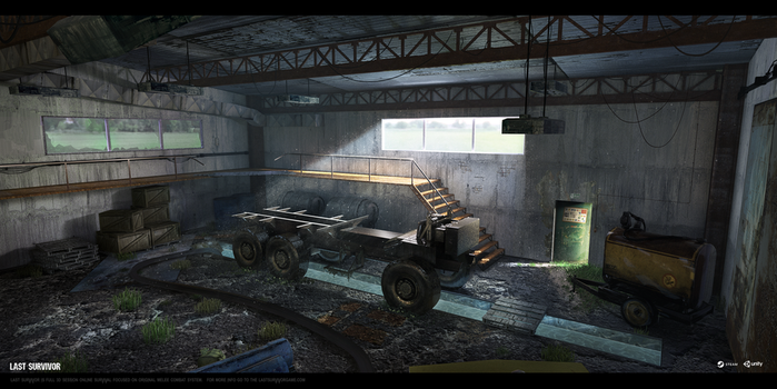 Last Survivor - Garage (interior 02) by UnccleUlty
