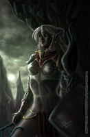 Drow Warlady: Briza Do'Urden by SicilianValkyrie