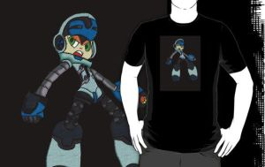 Mighty No.9   T - Shirt by CartoonWatch