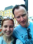 Me and Mark Gatiss. by Eria-tyan