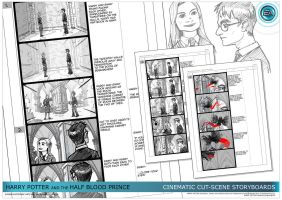 Half Blood Prince Storyboard02 by ArkadeBurt