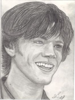 Jared Padalecki by pnutdclown