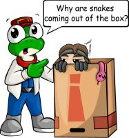 It's My Snake In A Box by skitzofrenicfox