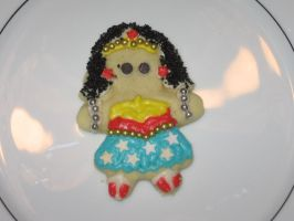 Sugar Cookie Wonder Woman by fisherofgirl