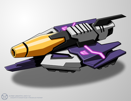 WfC-style Galvatron Vehicle by KrisSmithDW