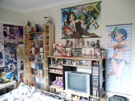 Anime Figure Collection - Room shot by CELESTRIAL-HARDRAVE