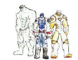 Avengers Super Soldiers by SplendorEnt
