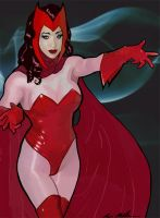 Scarlet Witch by DoctorPretorius