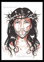 The Face Of Christ by natamon