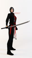 Lady Shiva Render by Ada-Momiji-Forever