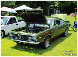 A 1969 Plymouth Barracuda by TheMan268