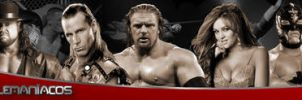 Banner Wrestlermaniacos2 by johnnymarques