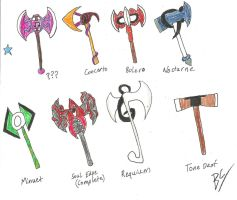 SC dA: Alternate Weapons 8 by BlackCarrot1129
