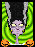 The Bride of Yzma-stein by andy-pants