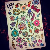 Lil designs by FIZZINK