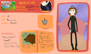 AoO App: Werewolf prince lupe by MissWiggleButt