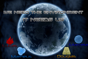 The environment needs us by Luned13