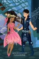 Pixie Scene Maker Josey and Andy by Taiya001
