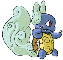 Wartortle WWS by the19thGinny