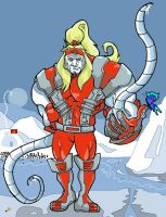 Omega red by Blackpeace