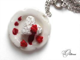 Pendent 'Sweet Heart' 1 by OrionaJewelry