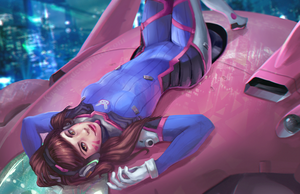 LOVE, D.Va by Kastraz