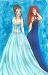 Queen Veronica and Mackenna by chelleface90