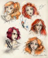 redheads no. 1 by cherryclaires