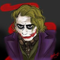 The Joker by AmmyWolf95