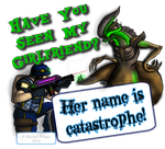 COMMISSION: Her Name Is Catastrophe Shirt Graphics by LadyIonia