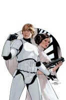 Star Wars #25 Cover by TerryDodson