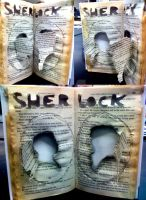 Sherlock and John Book Project (Extra Credit) by jenabhone