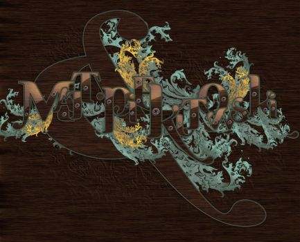 Richly ornate typography by imabro
