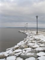 Winter on the Pier by mandycorinthos