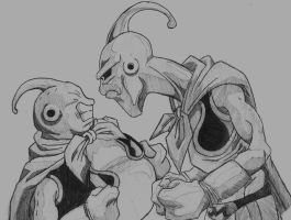 Majin Buus by YoungTalent93