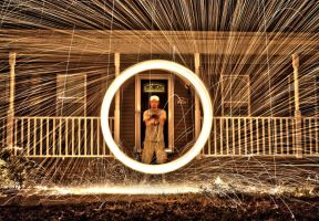 A Perfect Circle...of Fire by AbstractRealist