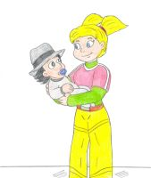 Baby Gadget and Penny by Jose-Ramiro