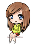 Chibi - Katie by YuffieTheSwift
