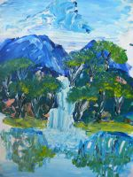 impressionist painting by I-like-pies