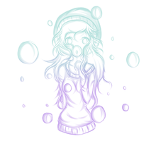 Bubbles {SandyDraws} by flowwithnemo