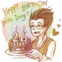 Happy Birthday Miss Invy by Jjiyo