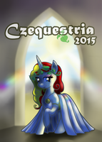 Czequestria Convention Guide Front Page 2015 by Cwossie
