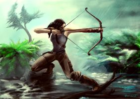 Tomb Raider Reborn - At River by Ramz-y