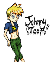 Female Johnny test- colored by kei-chan96