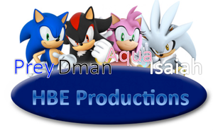 HBE Sonic Cast Tital Page by isaiahcow1