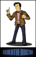 Eleventh Doctor by 94cape69