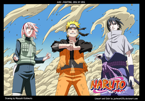 Naruto Cover 632 color by justwant2fly