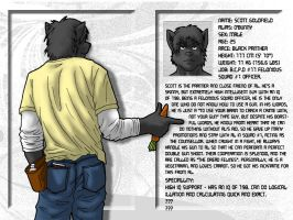 Scott Goldfield Character Bio by brownkuma